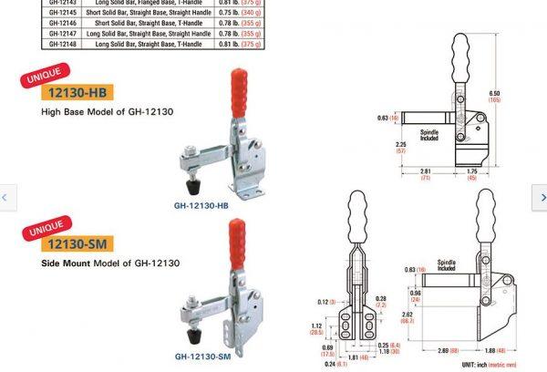 ban ve catalogue GH 12130